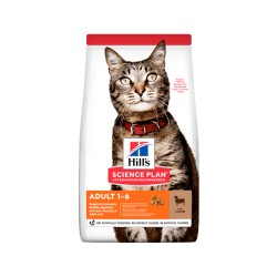 Hills Adult Cat Kuzu Etli...